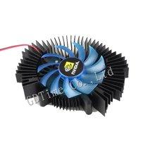 Free Shipping 1pcs Ball Bearing  Aluminum Computer Graphics Card  VGA Video Card Cooling Fan Heatsink