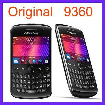 Original Blackberry 9360 Mobile Phone 5MP 3G WIFI GPS Bluetooth Qwerty Unlocked 9360 Cellphone & One year warranty(China (Mainland))