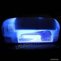 1Pcs Nail Dryer Led Lamp Nail Plastic White Professional Nail Gel UV Lamp Light Dryer 25*10*9cm Nail Tools EU Plug E600082