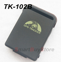 Dropshipping! NEW TK102 Mini Global Car GPS Real Time Tracker 4 bands GSM/GPRS Vehicle Tracking Device 850/900/1800/1900MHZ