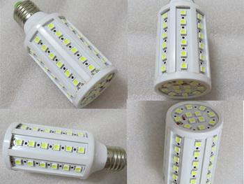 free shipping 10pcs/lot E27 E14 E26 10W 220V Warm White 60 LEDs 1080LM SMD Led bulb Corn Light Bulb Energy Saving led lamp