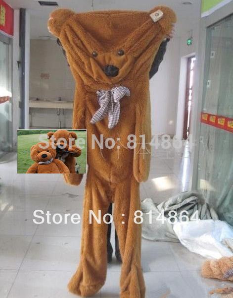 """Top spielzeug 60"""" großes spielzeug Valentinstag geschenk neupreis 160cm tragen shell 5-farben teddybär plüschtiere mantel neupreis"""