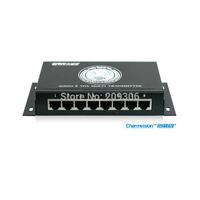 Charmvision EV-8S, 8 channels Audio & VGA sender, desktop VGA senders, via cat5 upt cable, with lightning Multi VGA transmitter