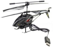 3.5CH Mini WL S977 RC Helicopter with camera Radio Remote Control RTF ready to fly Metal Gyro LED light low shipping fee