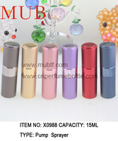 Free Shipping 15ml Refillable Perfume autorotation Atomizer Aluminum Perfume Bottles kinds color (12pcs/lot)Alibaba Express