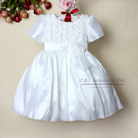 2013 Fashion Kids Girl Formal Dresses Rose Princess Dress 2 Colors Infant Summer Dress  5PCS/Lot Children Garment GD21105-07^^EI
