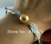 new Harry Potter  Bracelet necklace pendant golden snitch Necklace