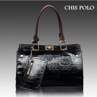 New arrival 2014 CHIS POLO brand bags, fashion leather handbags, messenger bag, 5 color optional, wholesale and retail