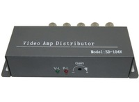 Model:SD-1V4, 4 Channel Video Baluns 1in 4out bnc interface