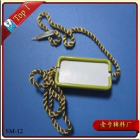 (SM-12) new fashion Garment Aluminum metal Tag