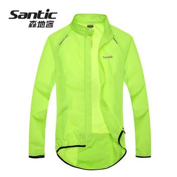 SANTIC  Bike Bicycle Cycling Cycle Waterproof Rain Coat Raincoat Wind Coat Windcoat Jersey Jacket High Quality