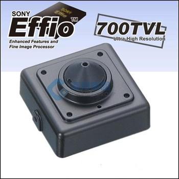 """Free Delivery 700TVL 0.01Lux 1/3"""" Sony CCD 3.7mm Pinhole Lens CCTV Sony Effio 700tvl MINI Camera Wholesale 2 Years Warranty"""