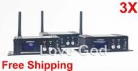 2.4Ghz DFI LCD display Wireless DMX512 Transmitters receiver for led battery light DJ lighting kit wireless dmx lighting 3X