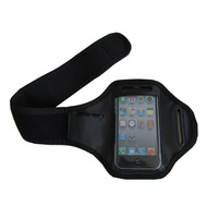 wholesale,100pcs/lot Workout Armband Case Bag for iphone 4/4S, Sports Belt Armband Cover Case For iPhone 4 4S,DHL Free shipping