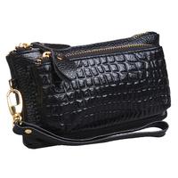 2014 Fashion Hot Selling Handbag Multifunctional Zipper Women's Genuine Leather Coin Purse Mobile Phone Bags Clutch Key Wallet