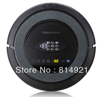 (Free shipping toUSA)Robotic vacuum cleaner QQ5,self-checking of problem,long working time,never touch charge base and sonicwall