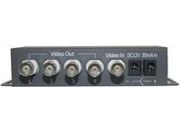 Model:SD-1V4, 4 port Passive Video amplifier distributer