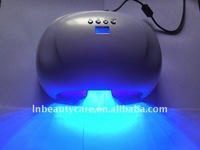 220V European plug Wholesale 45 watts LED nail gels uv lamps /light set time is 5s,20s,30s, free shipping