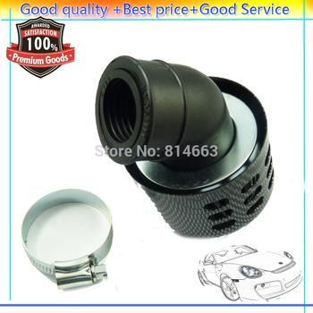 New 35mm Universal Air Filter For Motorcycle Honda Kawasaki Suzuki Yamaha Black,Free shipping , (AF0235CB) Wholesale/Retail