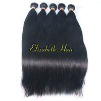 "12""-32"" 4pcs/lot Straight 5A Grade Hair Weft Brazilian Virgin Remy Hair Extension free shipping"