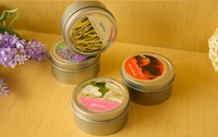 20pcs/lot,scented Candles/aromatherapy candle /Tin Candle 70g  6*4cm  for Wedding Party  Wholesale Retail