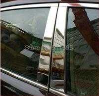 Fit for  Mazda 2007 2008 2009 2010 2011 CX7 CX-7  CX9 Stainless Steel Window Trims Center Pillars B & C Pillar Covers  Trim