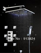 cheap led shower set
