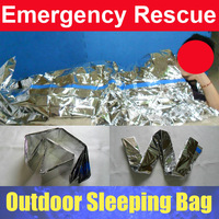Emergency Outdoor Camping Survival Sleeping Bag 200*100CM