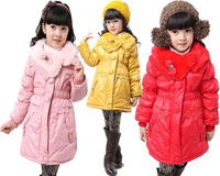 Free Shipping ! Wholesale Children's clothing kids clothes 2013 Winter girl's windbreaker girls coat girl's clothes #z11221