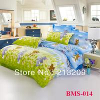 New 2014 Wholesale & retail king/queen/full/twin size 3/4pcs bedding Set , 100% cotton duvet cover,bed sheet,pillow case