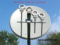 good quality LNB Bracket, LNB holder ,hold up to 4 ku band LNB free shipping !!!
