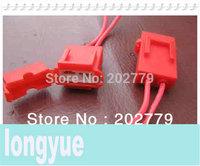 longyue 20pcs ceramic fuse holder fuse socket harness connector plug 20cm wire