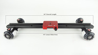 wholesale New Kamerar camera Slider Dolly for shooting movie also for DSLR RIG