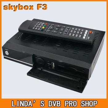 Original HD DVB-S2 Skybox F3 support USB wifi CCCam Newcam  satellite decoder free shipping!