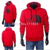 Free shipping Famous brand men's Pullovers Hoodies, plain fleece hoodies, outwear sport Sweater & hoodies, Men clothing Sz M-XXL