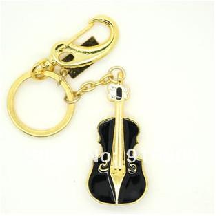 S-271 Wholesale Enough Crystal Black Guitar Violin 4GB 8GB 16GB 32GB 64GB 128GB USB 2.0 Flash Memory Stick Drive Thumb/Car/Pen