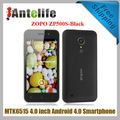 ZOPO Libero ZP500S MTK6515 1.0GHz 4.0 Inch IPS Screen Android 5.0 Smart Phone-Black