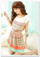 Free Shipping Wholesale&Dropship Fashion Dress, Spring Dresses, Elegnat Lace Black Dress W3188