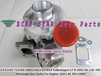 GT2556V 721204-0001 721204-5001S 721204 062145701A Turbo Turbine Turbocharger For VW Volkswagen LT II 2002-06 2.8L TDI AUH 158HP
