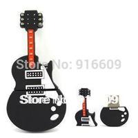EH003 Hot Cartoon Cute Black Guitar Keyboard 4GB 8GB 16GB 32GB 64GB USB 2.0 Flash Memory Stick Drive Thumb/Car/Pen Gift