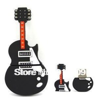 M-166 Hot Cartoon Cute Black Guitar Violin Keyboard 4GB 8GB 16GB 32GB 64GB USB 2.0 Flash Memory Stick Drive Thumb/Car/Pen Gift