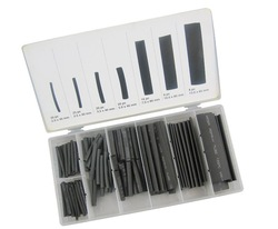 Hardware Free Shipping 127pc Heat Shrink Tubing/Sleeve Assortment/Kit/Set(China (Mainland))