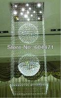 Hot selling + Modern contemporay crystal pendant lamp Rain Drop chandelier