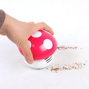 Mini Home Handheld Tabletop Vacuum Cleaner Mushroom Vacuum Car Laptop Dust cleaner Dropshipping(China (Mainland))