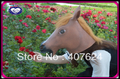 20pcs/lot, Free shipping, 2012 hot Creepy Horse Mask Head, Halloween mask, Theater Prop Novelty Latex mask (4colors)