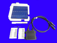 40 pcs POLY 6x6  DIY kit for solar panel, solar cells, flux pen, diode, bus tabbing wire, junction box