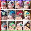 Sunshine store #2B1506  10pcs/lot (12 Style) baby hat with big flower toddler hat of flower owl children hat/baby Amour cap CPAM