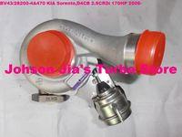NEW BV43/53039880144 282004A470 Turbocharger for KIA Sorento,engine:D4CB 2.5CRDi 170HP 2006-