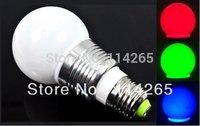 GU10 E14 E27 holders 5W RGB Remote Control Bulbs16 Color + 24 key controller led lights 2700~6500K