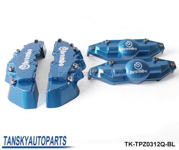 Tansky - Brem** Look Brake Caliper Cover Kit Front/Rear 4pcs (Red,blue,yellow) default color is  blue TK-TPZ0312Q-BL